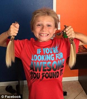 الطفل الذي أطال شعره