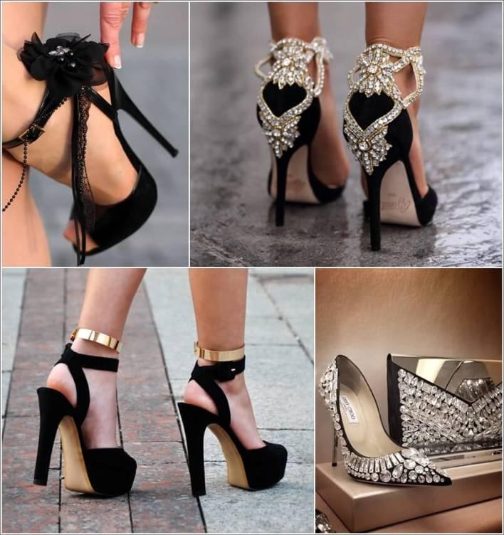الأحذية السوداء