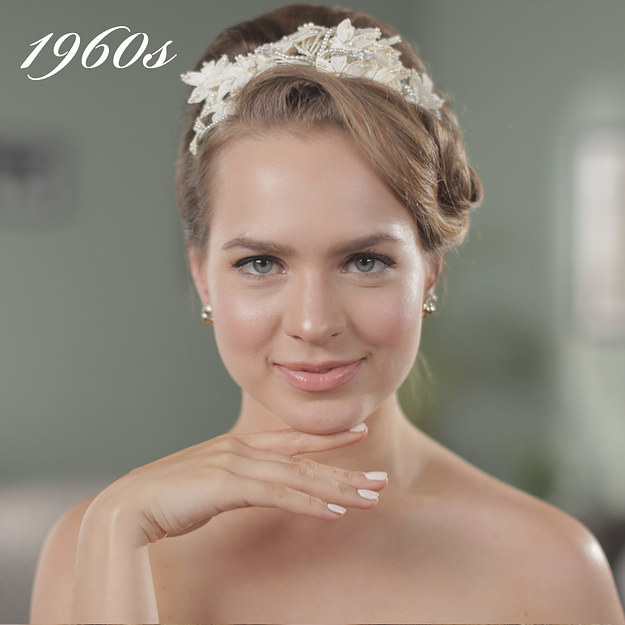 تطور تسريحات العرائس في 50 عام تسريحات شعر
