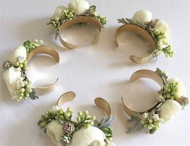وصيفات العروس : شاهدي معنا أفكار أساور مميزة وخاصّة ومبتكرة ليوم الزفاف
