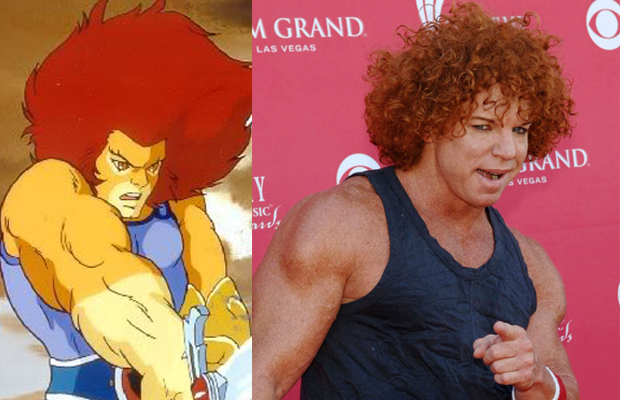 Carrot Top - Lion-O in Thundercats