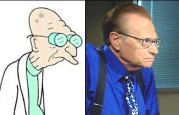 Larry King - Professor Farnsworth, Futurama