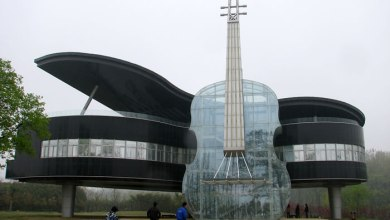 Piano Shaped Building, Huainan, China
