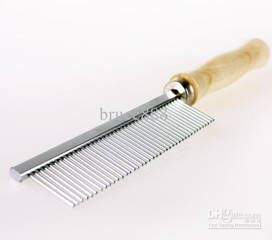 pet-dog-wooden-handle-needle-comb-cat-stainless