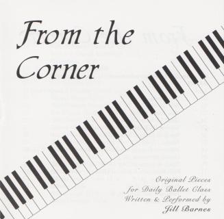 Classical Music (Unset) for Ballet Class CDs and Sheet