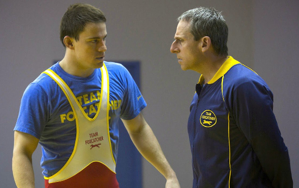 Foxcatcher - Steve Carell and Channing Tatum