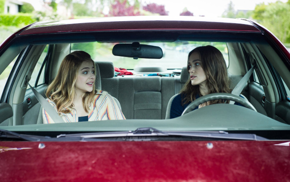 Keira Knightley and Chloë Grace Moretz in Say When