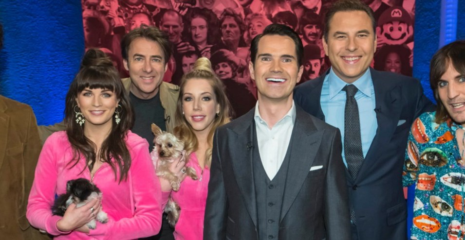 Jimmy Carr and guests on Big Fat Quiz of Everything