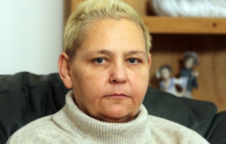 Michelle Tolley - who was infected with Hepatitis C