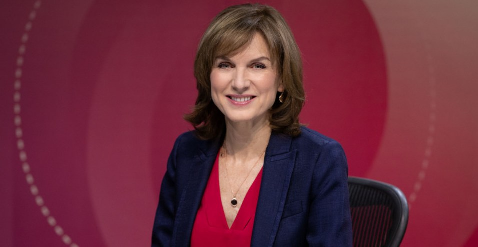 Question Time Fiona Bruce