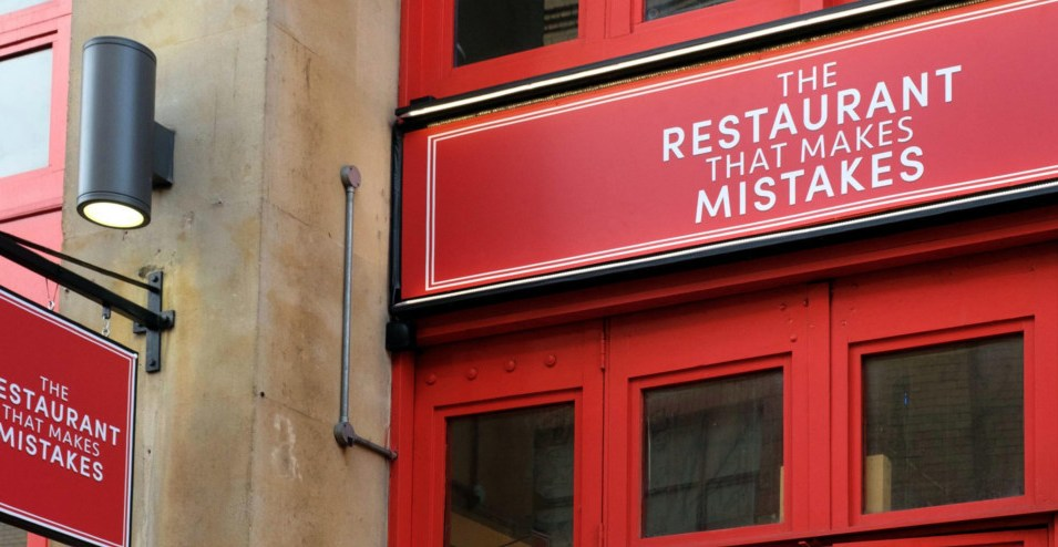 The Restaurant That Makes Mistakes