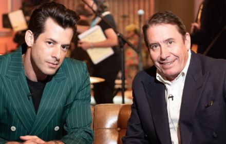 Mark Ronson and Jools Holland