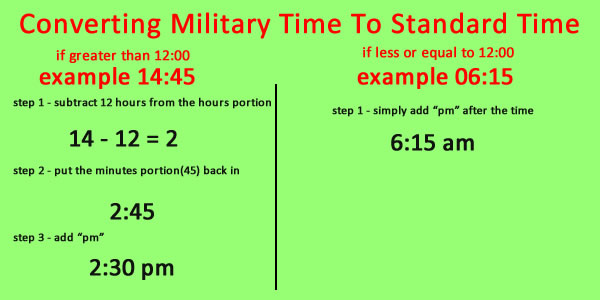 convert military time to