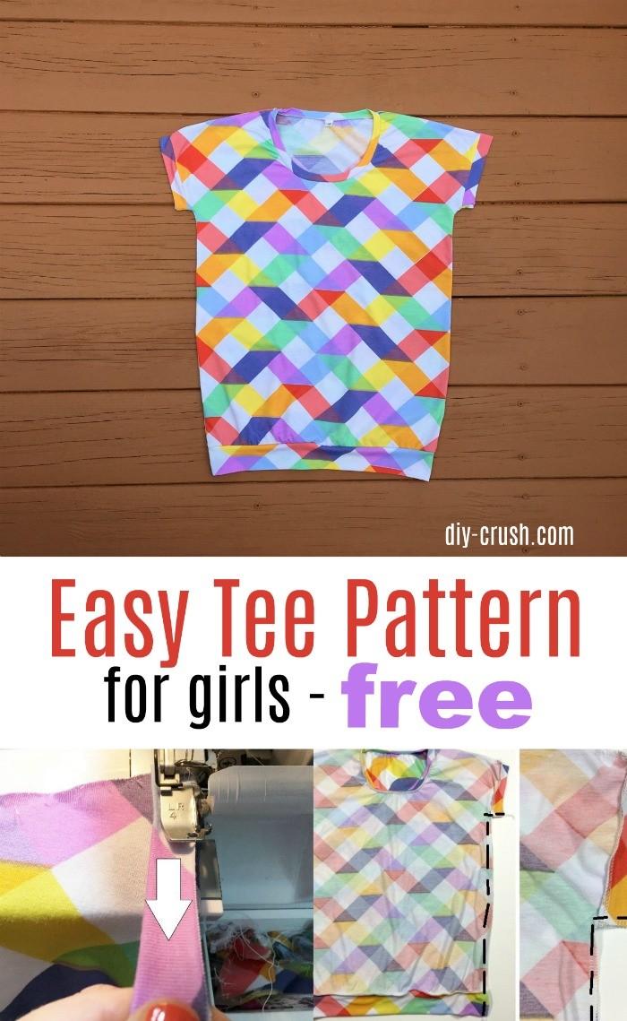Tee Shirt Cutting Patterns