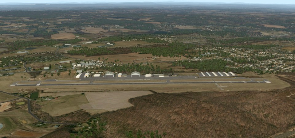 KMQS Chester County (X-Plane)
