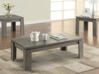 Weathered grey coffee table set  On The Go Living
