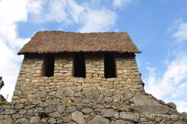 Watchman's Hut Peru Travel Machu Picchu