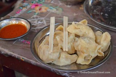 Trip to Tibet - Momos - Tibetan Food