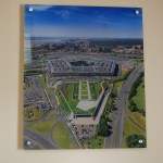 Pentagon Wall Graphic