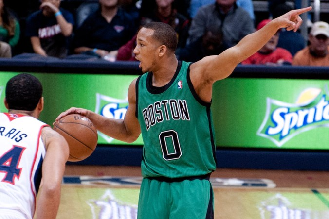 Avery Bradley's development has been a big part of Boston's success this season (Mark Runyon/BasketballSchedule.net)