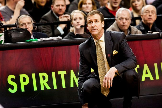 Under the leadership of Coach Terry Stotts (pictured), the Portland Trailblazers have exceeded expectations and are vying for the playoffs. (Wikimedia Commons)