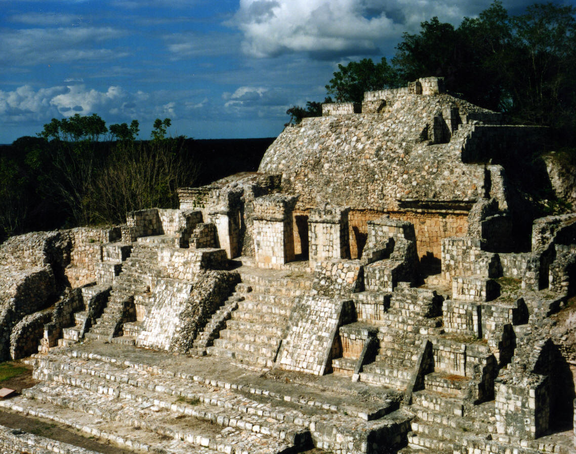 Edzna Mayan Ruins Campeche Mexico Photography By Bill And