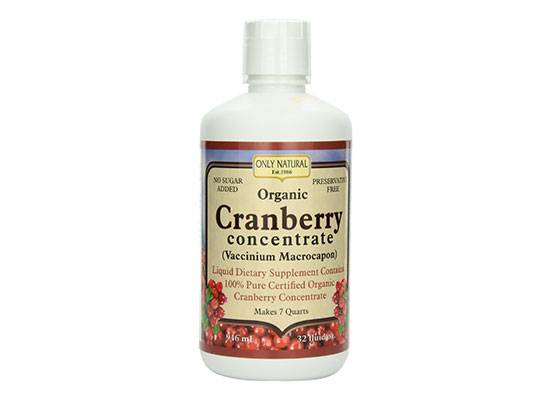 The Only Natural Organic Cranberry Concentrate