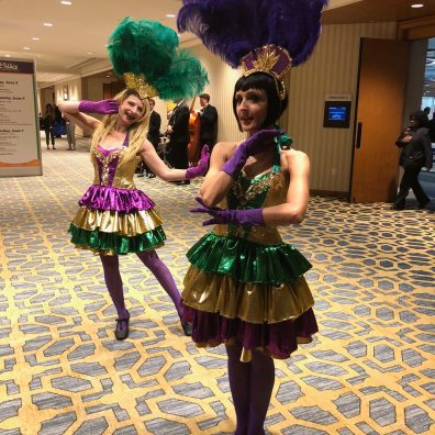 new orleans dancers at event