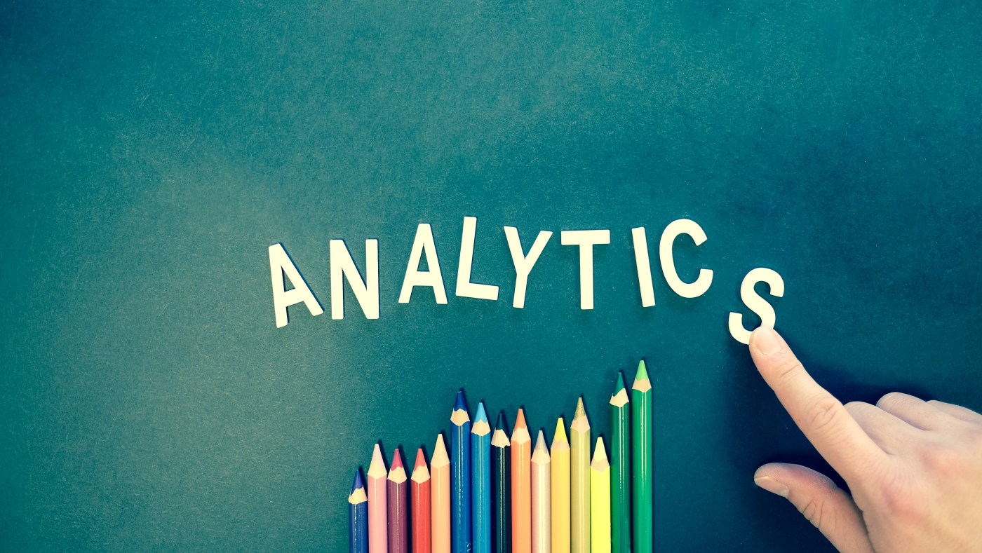 Colored Pencils, Analytics spelled out