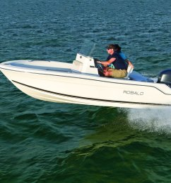 robalo boats unveils affordable r160 [ 1500 x 1000 Pixel ]