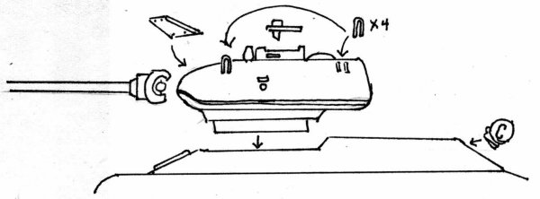 1/72nd Scale T-34-85 Turrets Review