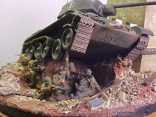 Dave Parks Knocked Out T34 Dio