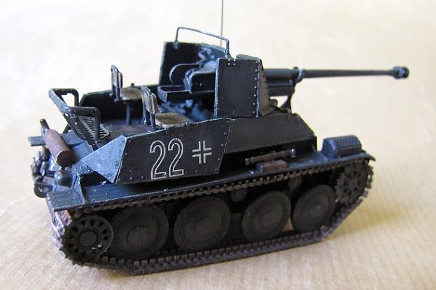 Marko Mkinen 172nd Scale SdKfz139 Marder III