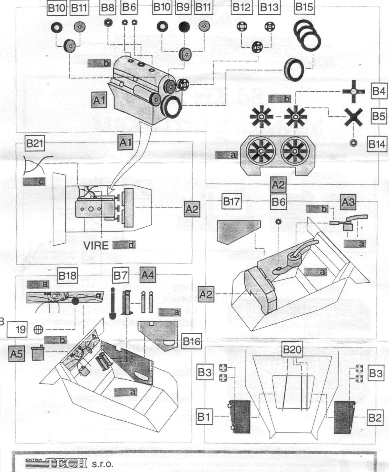 Extratech Exk Maybach Hl42tukrrm Sd Kfz 251 Engine Set