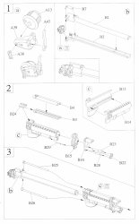 Toxso Model, M114A1 155mm Howitzer, Kit No. 1403