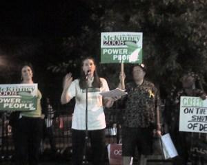 Karen Young, Kimberly Wilder, Matt from Nassau, Betty from NYC at Hofstra