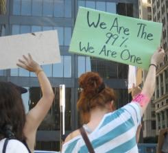 99% An Occupy Wall Street theme