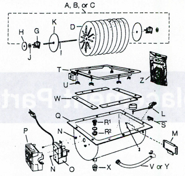 Humid-Aire HH-100 Humidifier Parts