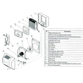 Honeywell HE365 Humidifier Parts