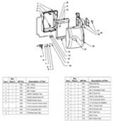 Goodman HE17 Humidifier Parts