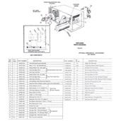Trion CA3000C Air Cleaner Parts
