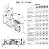 Trion IAQ 2000 Air Cleaner Parts