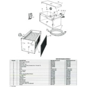 White Rodgers WW1400 Series Air Cleaner Parts