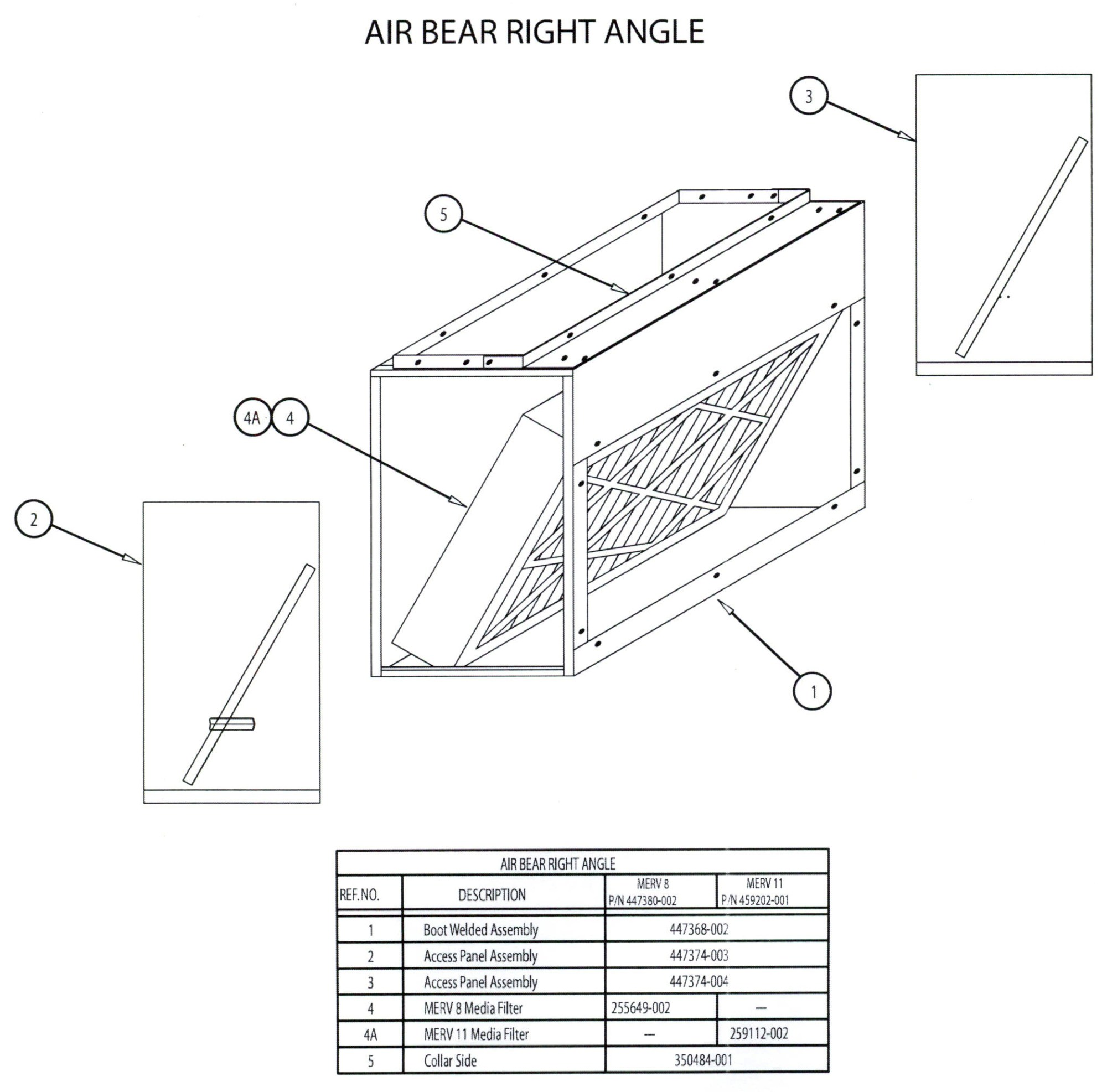 hight resolution of with a 5 media cleaner in an angle filter rack you can achieve the necessary surface area 1 filters in an attached filter rack don t get it done