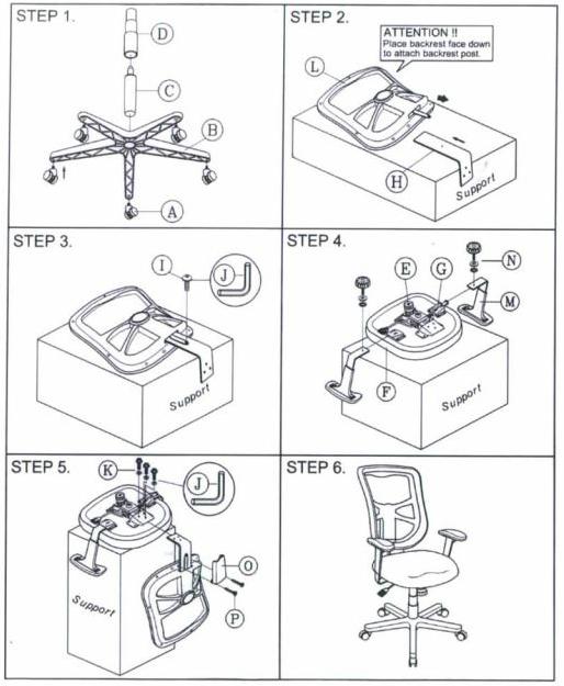 Alera Elusion Series Mesh MidBack Multifunction Chair by
