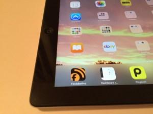 iPad corner