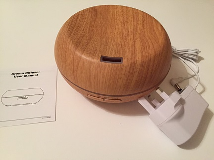 Wooden Humidifier / Aroma Diffuser Review