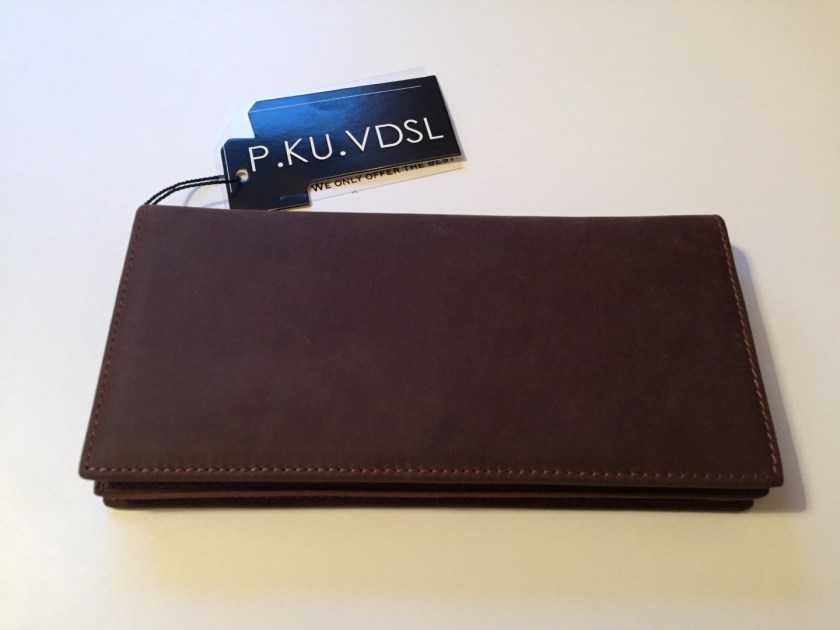 Brand new leather wallet