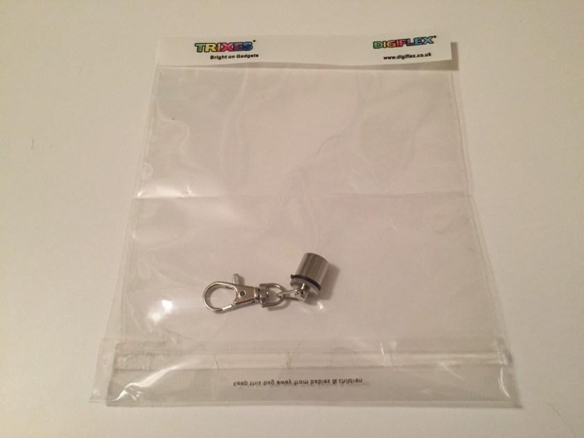 Flashing dog collar attachment in original packaging