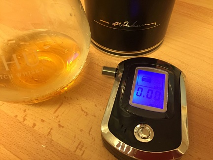 Breathalyser Reading Before a Drink
